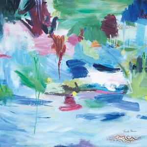 Lake Abstract by Farida Zaman