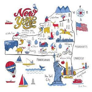 New York State by Farida Zaman