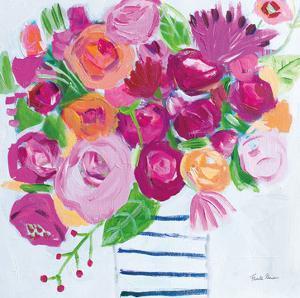 Pink Blossoms I by Farida Zaman