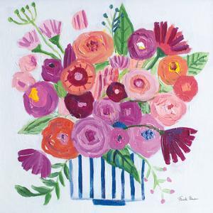 Pink Blossoms II by Farida Zaman