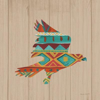 Southwestern Vibes III on Walnut by Farida Zaman