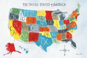 US Map by Farida Zaman