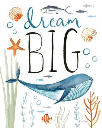 Whale Tale I by Farida Zaman