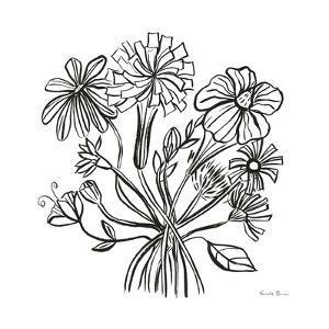 Wild Flowers Line II by Farida Zaman