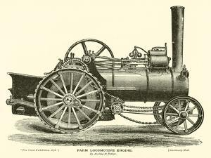 Farm Locomotive Engine, by Aveling and Porter