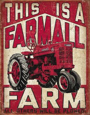 Farmall Farm Tin Sign