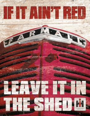 Farmall - If it Ain't Red