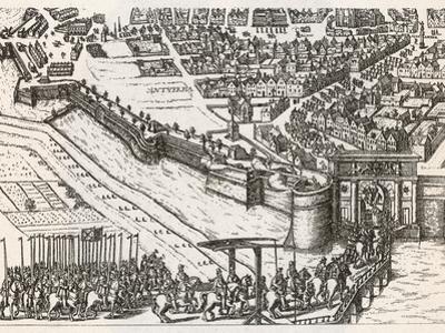 Farnese Enters Antwerp
