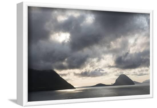 Faroes, Koltur, evening-olbor-Framed Photographic Print