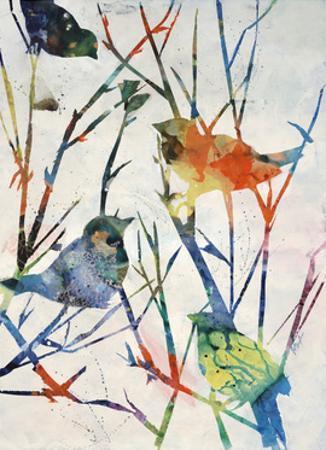 Birdsong Shadows II by Farrell Douglass