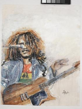 Rockin the Blues I Marley by Farrell Douglass