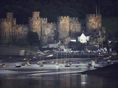 Massive, Eight-Towered Conwy Castle and its Walled Garrison Town
