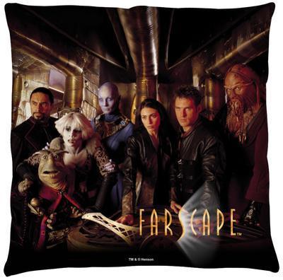 Farscape - Crew Throw Pillow