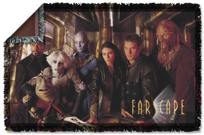 Farscape - Crew Woven Throw