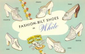 Fashion-Bilt Ladies' White Shoes