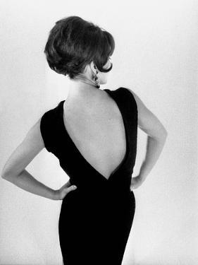 """Fashion by Chloe : """"Mirage"""" Black Cocktail Dress August 7, 1963"""