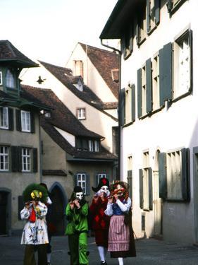 Fasnacht Celebration, Basel, Switzerland