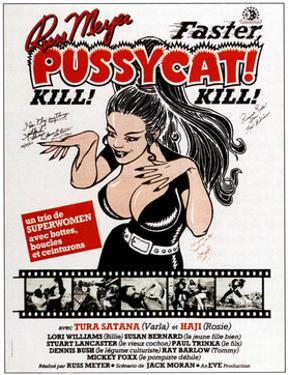 Faster, Pussycat! Kill! Kill!, French Poster Art, 1965