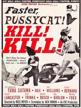 Faster, Pussycat! Kill! Kill!, Paul Trinka, Tura Satana, Lori Williams, Haji, 1965