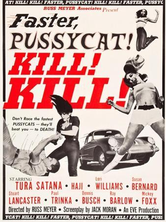 Faster, Pussycat! Kill! Kill!, Paul Trinka, Tura Satana, Lori Williams, Haji, 1965