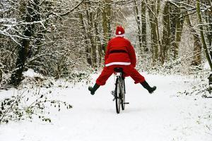 Father Christmas on a Bicycle, Freewheeling