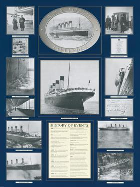Titanic Poster by Father Francis Browne