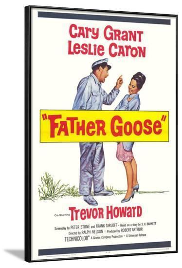 Father Goose--Framed Poster