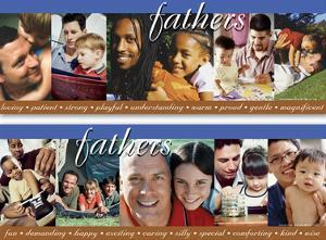 Fathers Poster (set of 2)