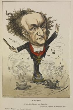 Richard Wagner by Faustin