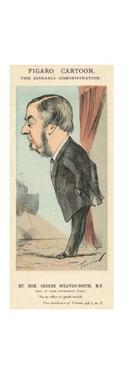 'The Rt. Hon. George Sclater-Booth, M.P..', c1870 by Faustin