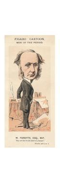 'W. Forsyth, Esq., M.P.', c1870 by Faustin