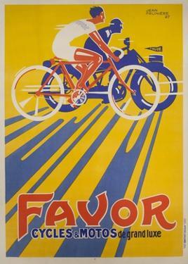 Favor Cycles et Motos, 1927