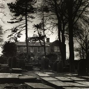 Howarth Parsonage, House Of the Brontes by Fay Godwin