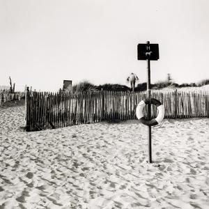 Lifebelt, Camber Sands by Fay Godwin
