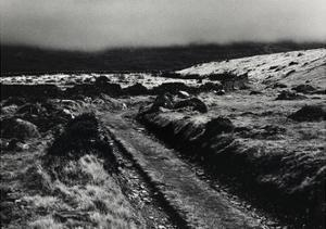 Path Above Talybont, Mist Drovers Roads, Wales by Fay Godwin