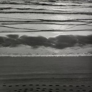 Waves Breaking On Shore by Fay Godwin