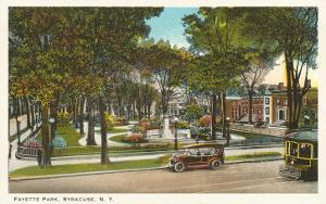 Fayette Park, Syracuse, New York
