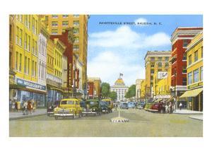 Fayetteville Street, Raleigh, North Carolina