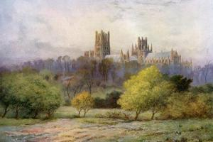 Ely Cathedral, Cambridgeshire, 1924-1926 by FC Varley