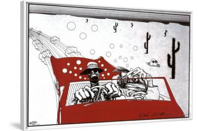 Fear And Loathing In Las Vegas-Ralph Steadman-Framed Poster