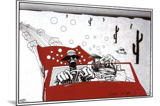 Fear And Loathing In Las Vegas-Ralph Steadman-Mounted Print