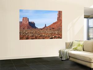 Buttes and Mesas of Monument Valley by Feargus Cooney