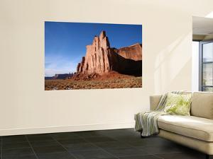 Mesa Rock Formations in Monument Valley by Feargus Cooney