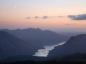 Moon over Loch Etive by Feargus Cooney