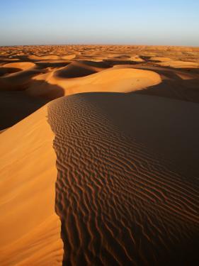 Sand in Sahara Desert Near Chinguetti by Feargus Cooney