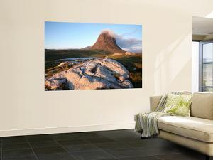 Suilven Mountain from the West, Inverpolly Nature Reserve by Feargus Cooney