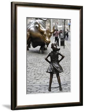 Fearless Girl Wall Street