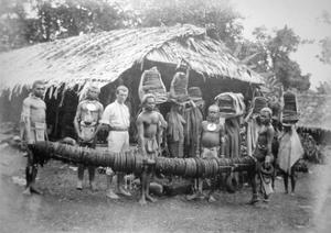 Feather Money, Brought to Forrest's House at Nelua, 1892