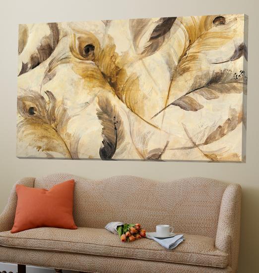 Feather Toss-Albena Hristova-Loft Art