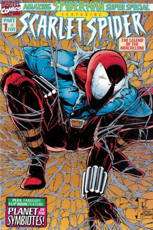 Featuring Scarlet Spider Cover: Scarlet Spider Crouching